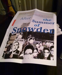 After The Summer Of Snowden Plakat