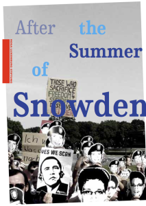 After The Summer Of Snowden Titelmotiv